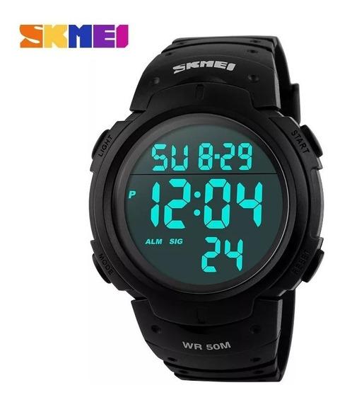 Relógio Esportivo Skmei Led Digital 1068 Prova D
