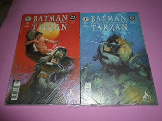 Hq Batman Tarzan Garras Da Mulher Gato Mini-serie Completa
