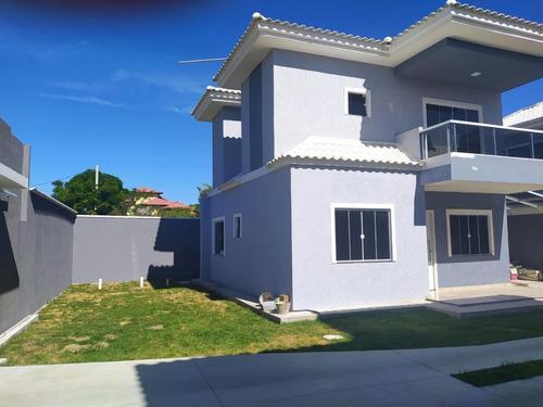 Casa Para Venda Em Saquarema, Itaúna, 3 Dormitórios, 2 Suítes, 3 Banheiros, 1 Vaga - E218_2-1108005