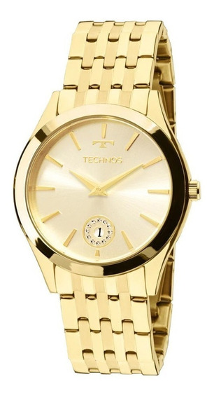 Relógio Technos Feminino Dourado Elegance 1m15aq/4x