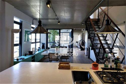 Apartamento Com 2 Dormitórios À Venda, 195 M² Por R$ 3.995.000 - Vila Madalena - São Paulo/sp - Ap18855