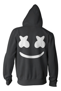 Combo Marshmello Campera + Remera + Gorra - Color Animal