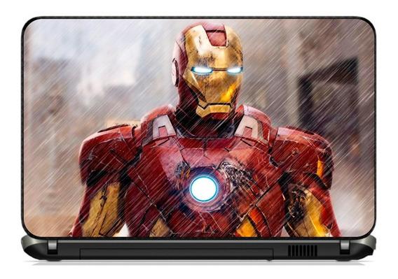 Skin Adesivo Notebook Homem De Ferro - Iron Man