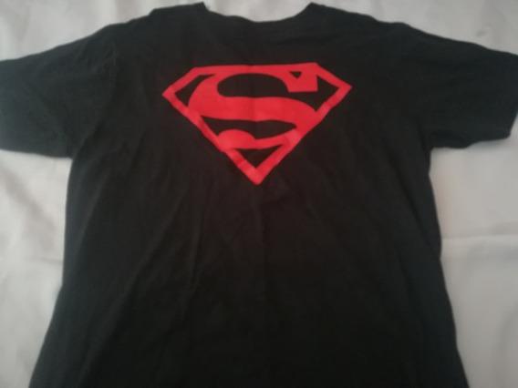 Playera Super Man Talla Xl Dc Comics (super Heroes,moda,just