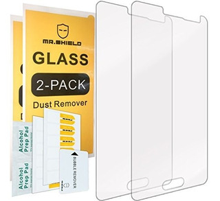 2pack Mr Shield Para Samsung Galaxy Alpha Vidrio Templado Pr