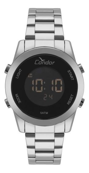 Relógio Condor Feminino Bracelet Digital Prata Cobj3279ab/3p