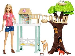 Juegos Rescate Mattel Barbie Original Animales
