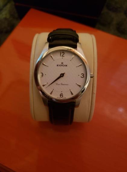 Reloj Para Caballero Edox Original No Longines,rado,mido.
