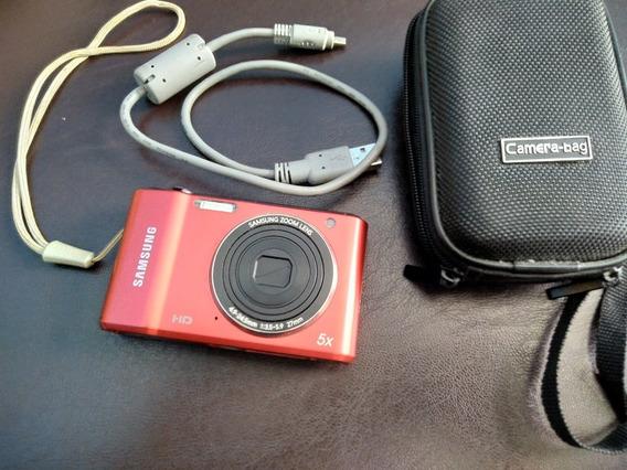 Câmera Samsung Es90 Com Case Carregador E Cabo Usb