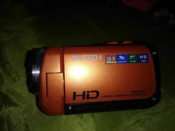 Cámara Utech Uhdv 58 Fotográfica Waterproof