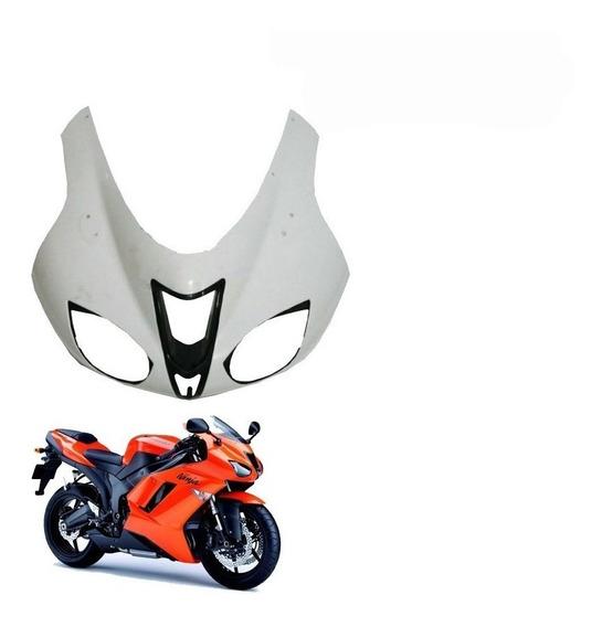 Asiento Trasero de la Motocicleta QOHFLD para Kawasaki ZX6R ZX-6R ZX636 ZX-6RR 2005-2006