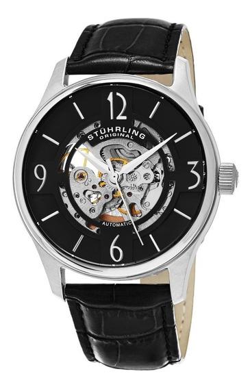 Reloj Hombre 557.02 Automatico Correa Cuero Stuhrling