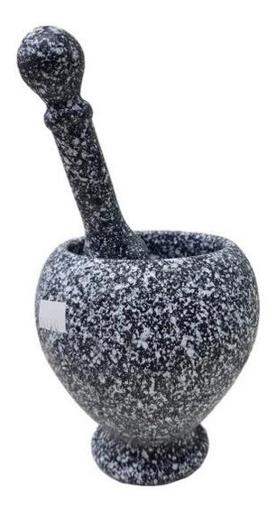 Mortero Plastico Duro Con Base (16480) Lanus