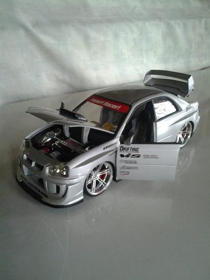 Carrito De Coleccion Subaru Impreza