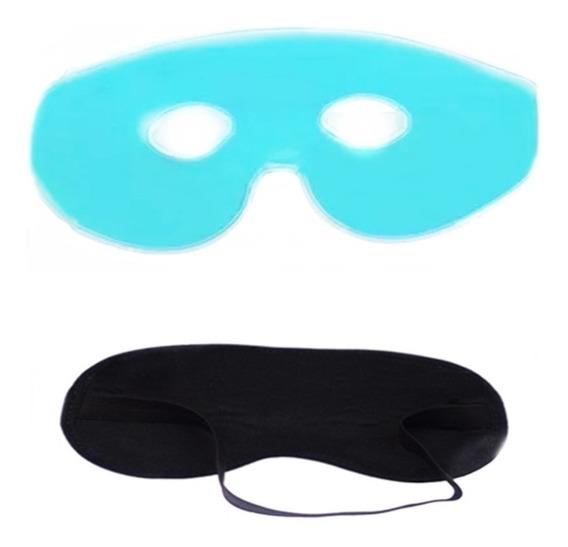 Máscara Calmante De Gel Para Os Olhos - Máscara De Dormir