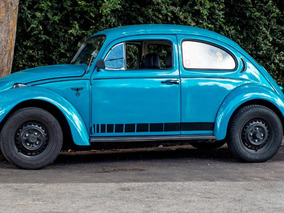 Volkswagen Fusca 1976 Std Azul Pavão R$8.500