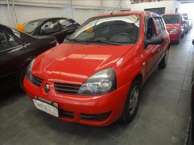 Renault Clio Clio Campus 16v Flex 4p 2011 Vermelho U Dono No