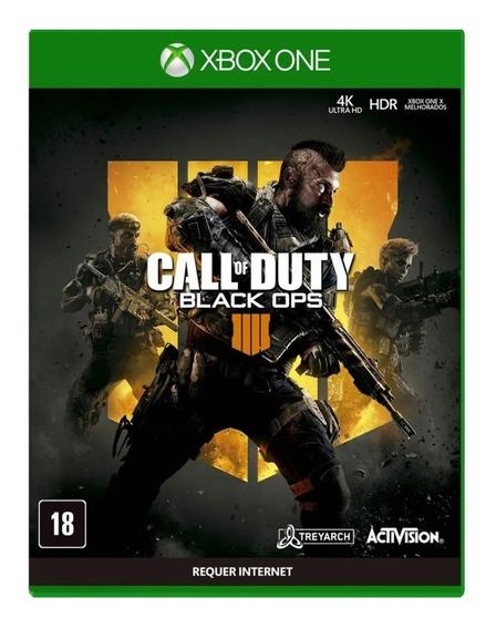 Jogo Call Of Duty Black Ops 4 Para Xbox One - Oferta