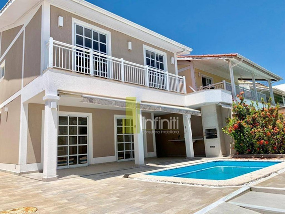 Casa Com 4 Dormitórios À Venda, 280 M² Por R$ 1.500.000 - Recreio Dos Bandeirantes - Rio De Janeiro/rj - Ca0486