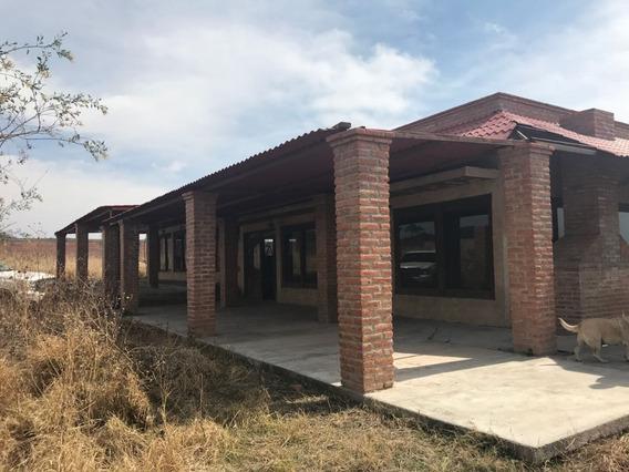 Casa De Campo En Venta, Ejido San Antonio De Peñuelas, Ags, Sur Rcv 292912