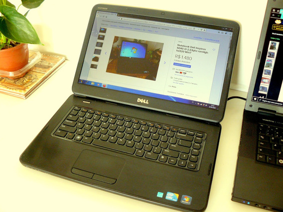 Notebook Dell Inspiron N5040-i3-2,53ghz Ram 4gb Hd 320 Win 7