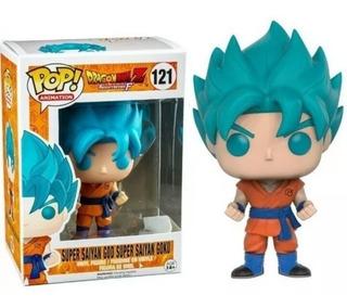 Funko Pop Super Saiyan Goku #121 Dragon Ball Z Resurreccion