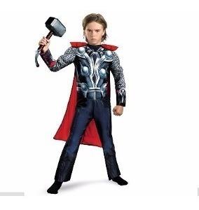 Fantasia Thor - Os Vingadores - Com Elmo Capacete !