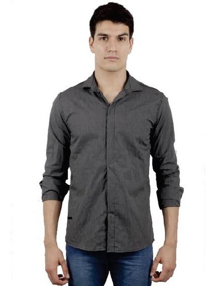 Camisa Manga Larga Entallada Rado | Moha (130293)