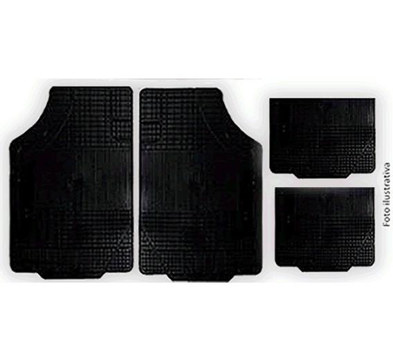 Jg Kit Tap Não É Carpete Preto Gol G1 Quadrado /