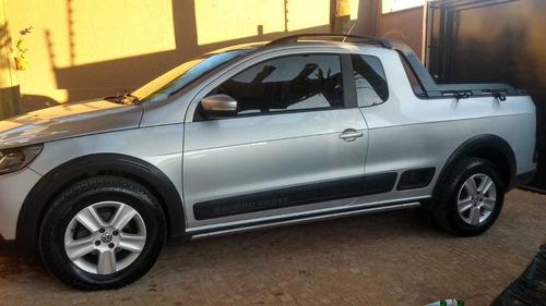 Imagem 1 de 6 de Volkswagen Saveiro 1.6 Cross Cab. Estendida Total Flex 2p