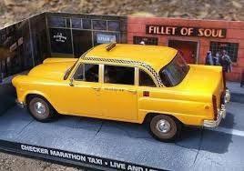 Miniatura Taxi Ny Checker Marathon 007 James Bond Novo