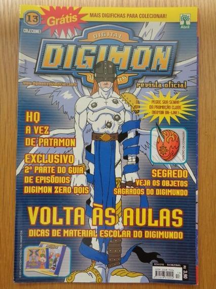 Revista Oficial Digimon #13