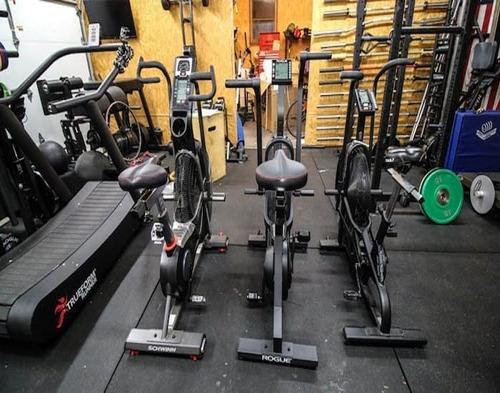 Home Fan Assault Air Echo Bike, Club Commercial Gym Master