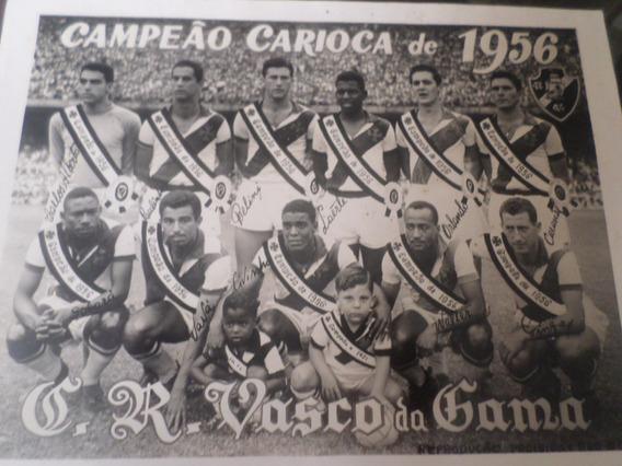 Foto Clube De Regatas Vasco Da Gama Campeão Carioca 1956