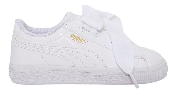 Zapatillas Puma Basket Heart Patent Inf -36335302