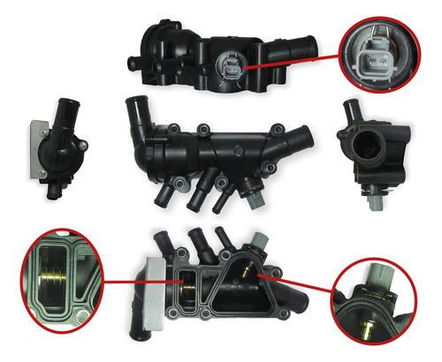 Imagen 1 de 2 de Carcaza Termostato Ford Ka 1999-2008 1.0 1.6 Zetec Rocam