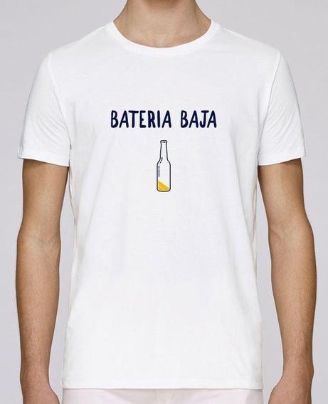 Playera Bateria Baja