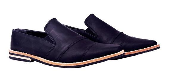 Customs Ba Zapatos Hombre Cuero Ecologico Zapato Botita