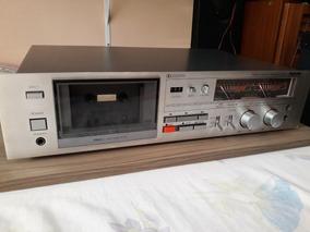 Tape Deck Polyvox Cp 650 D Só Grava Um Canal!