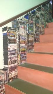 Lote C/50 Filmes Vhs! Dubladas E Originais De Videolocadora!