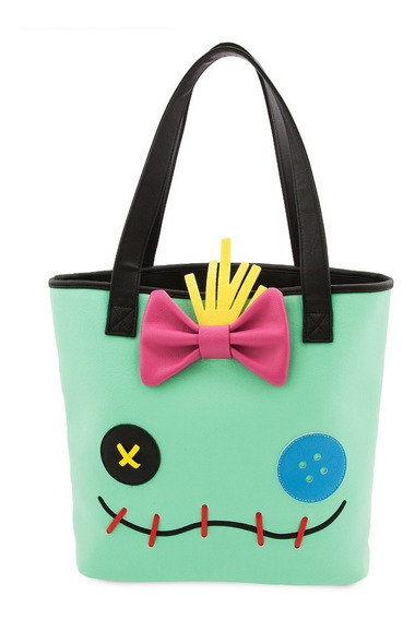Bolsa Mujer Stitch & Scrump Tote Bag Loungefly Disney Store