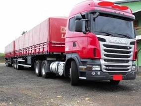 Scania R480 6x4 Com Bitrem Ano 2014
