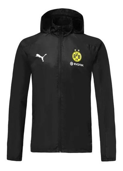 Jaqueta Corta Vento Borussia Dortmund Puma Masculina
