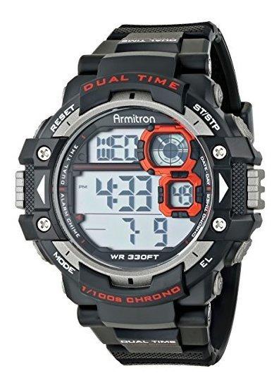 Armitron Sport 40/8309 Reloj Cronógrafo Digital Para Hombre