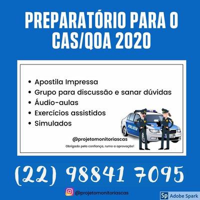 Monitoria Cas/qoa Pmerj