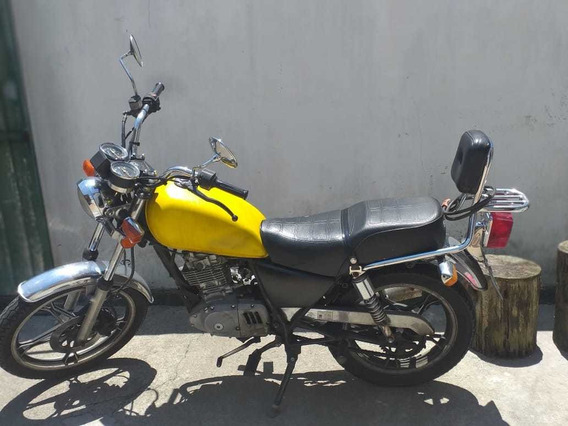 Suzuki Intruder 125cc Amarela