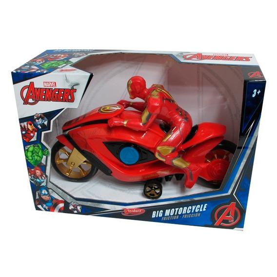 Iron Man Friccion Motorcycle