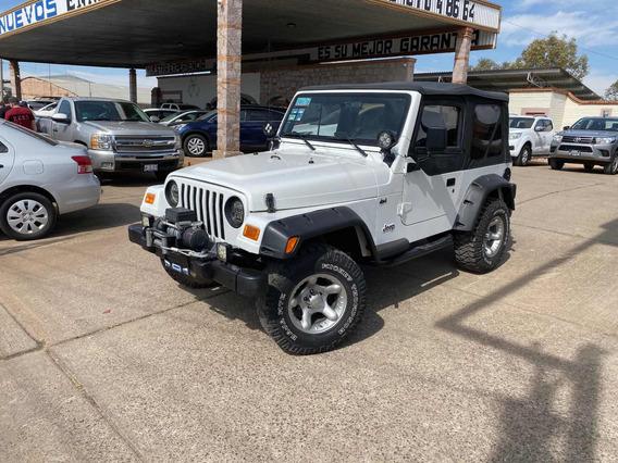 Jeep Wrangler X 5vel Mt 2002