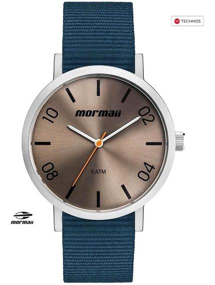 Relógio Mormaii Steel À Prova D