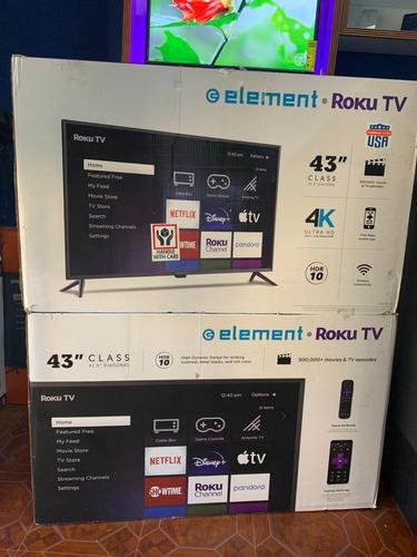 Element Smart Tv 43 Pulgadas 4k Ultra Hd